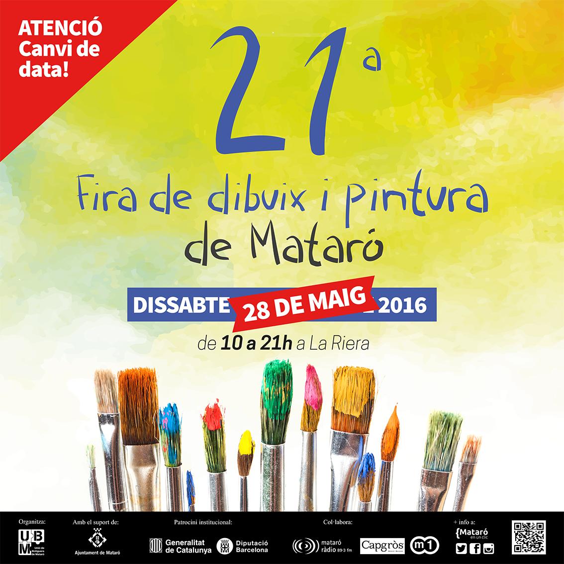 S'ajorna La 21a Fira De Dibuix I Pintura De Mataró