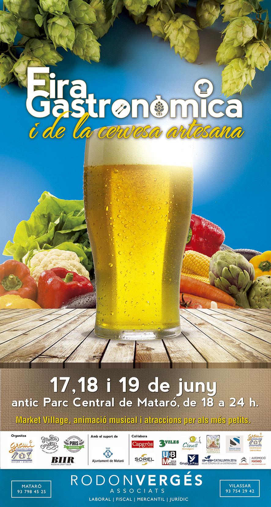 Market Village A La II Fira Gastronòmica I De La Cervesa Artesana