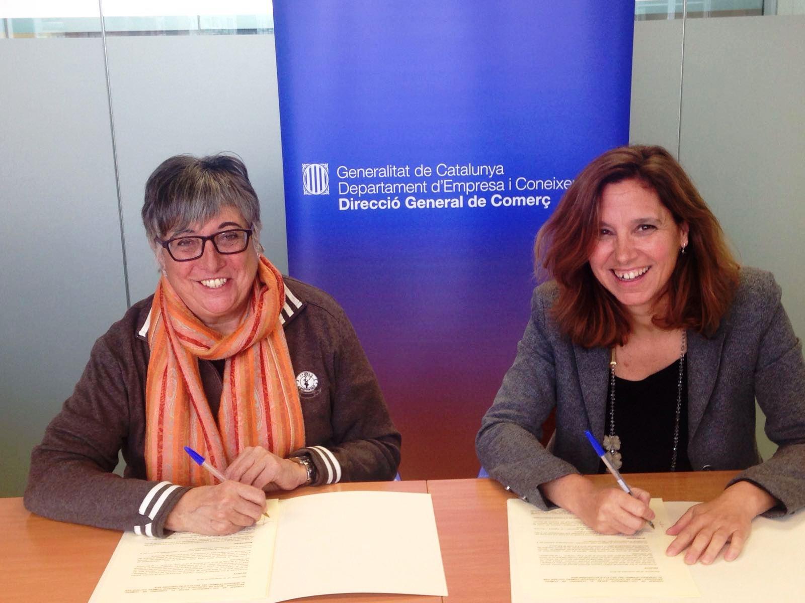 La Generalitat I La FCC Sumen Esforços Pel Comerç Urbà